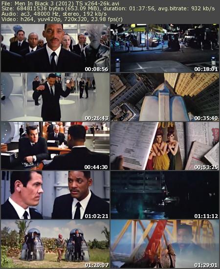 Men In Black III (2012) TS x264-26k