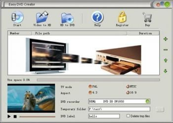 Easy DVD Creator v2.5.8