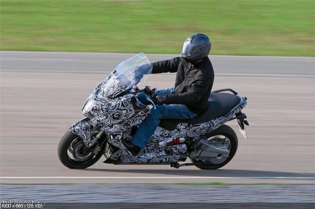 Концепт электрического скутера BMW
