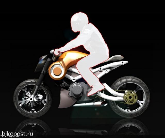 Концепт мотоцикла Aprilia Easyrider