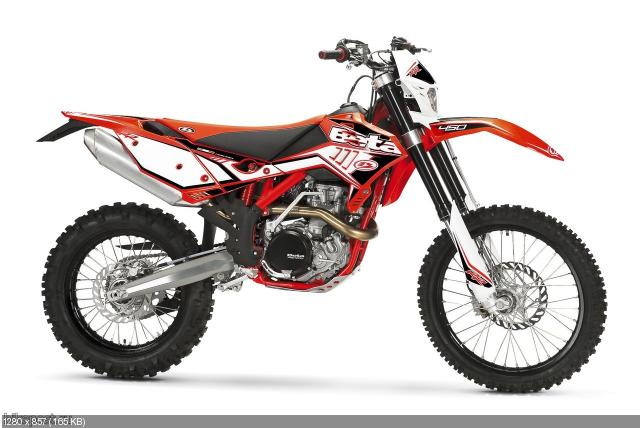 Новый мотоцикл Beta RR Enduro 350 4T 2012