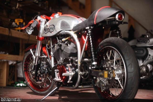 Мотоцикл Santiago Chopper Norley