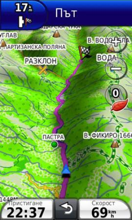 Garmin - Карты Болгарии OFRM Geotrade [ Обновление, v.5.60 + JCV, 2011 ]