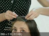 Домашний парикмахер. Видео уроки (2011/DVDRip/1.5 Gb)