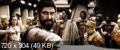 300 спартанцев / 300 (2006) BDRip(2100Mb+1400Mb)