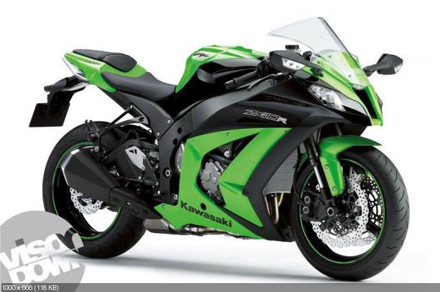 Kawasaki → фотография мотоцикла kawasaki zx 10r