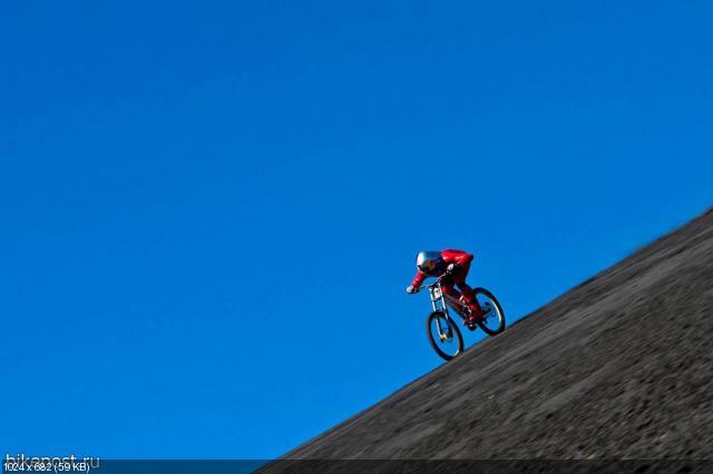 Маркус Штекл установил рекорд скорости на велосипеде