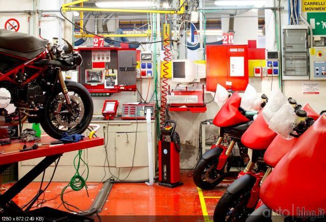 Сердце Ducati, Болонья, Италия