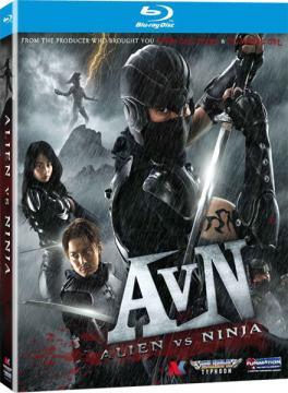 Чужие против ниндзя / Alien vs. Ninja (2010) Blu-ray Disc 1080i