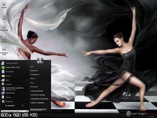 Windows 7 Black & White SP1x64 (2011) РС