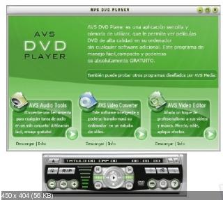 AVS DVD Player 2.4 (2010) PC
