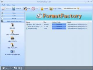 Format Factory 2.60 (2010) PC