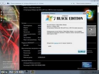 Windows 7 Build 7600 Black Edition RTM.X64.2in1 OEM RUS SPA