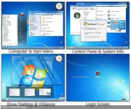 Windows 7 Skin Pack 6.0 For XP