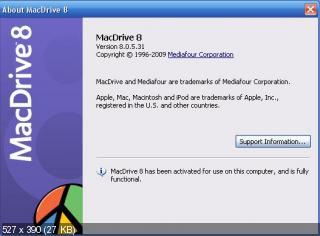 Mediafour MacDrive 8.0.5.31