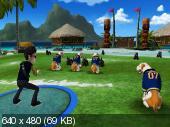 Jerry Rice And Nitus Dog Football [NTSC] [Wii]