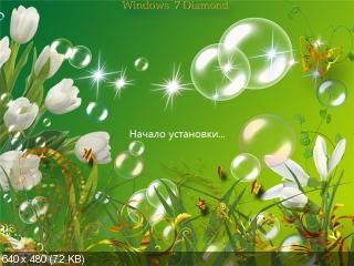 Windows 7 Diamond Spring Design[x64]