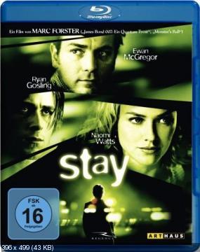 Останься / Stay (2005) BDRip 720p