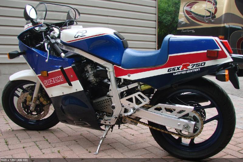 Спортбайк Suzuki GSX-R750 Limited Edition 1986