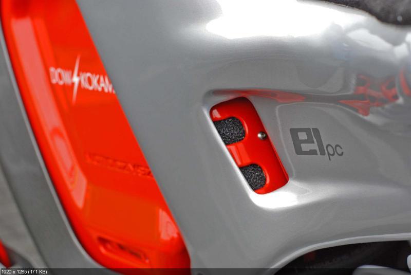 Фотографии гоночного электроцикла MotoCzysz E1pc 2012