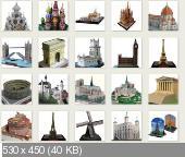 Подборка бумажных моделей от Canon и Yamaha [2001-2008] [PDF]