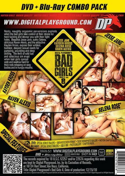 Bad Girls 8 / Плохие Девчонки 8 (Robby D, Digital Playground)