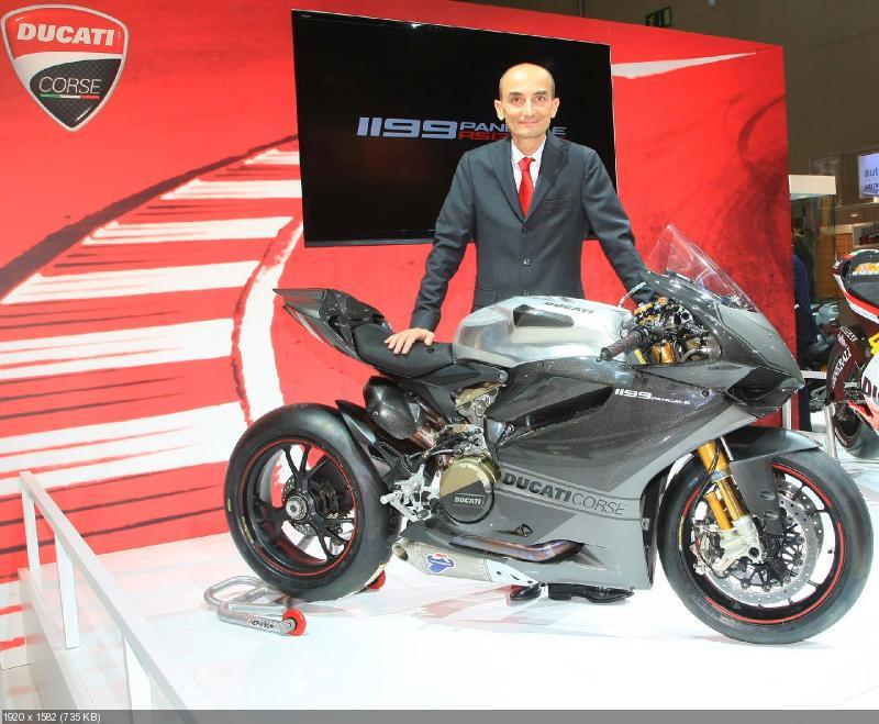 гоночный мотоцикл Ducati 1199RS Panigale 2013