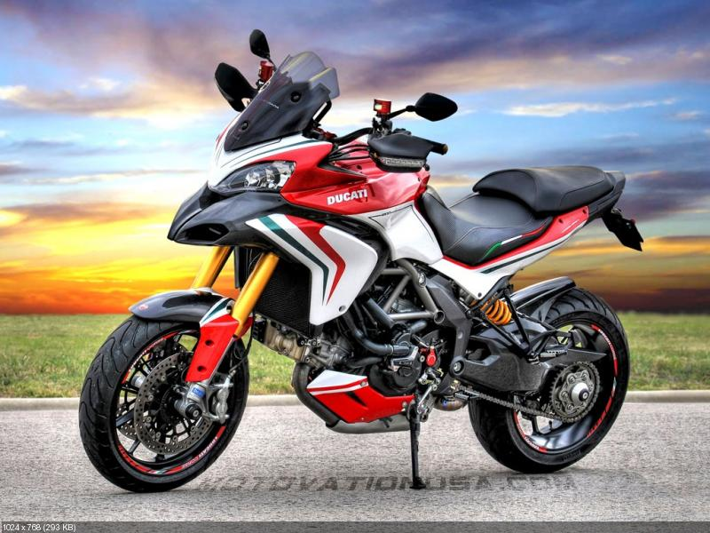 Мотоцикл Ducati Multistrada 1200 S Tricolore